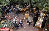 Mercado de antigüedades en Hanoi