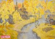 Россия глазами Вьетнамских художников