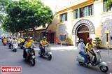 A la découverte de Hanoi à Vespa