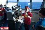 Boletín especial en el buque KN 490