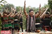越南摩侬族村寨大门祭礼