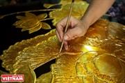 Productos de laca de la aldea de Tuong Binh Hiep