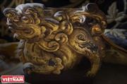 La belleza de la colección de animales sagrados folclóricos vietnamitas