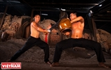 Martial Arts with Jars in Thu Dau Mot