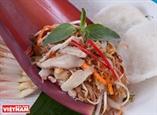 バナナ花のサラダ-ベトナム農村の郷土料理