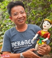 Artisan promotes southern culture through water puppetry