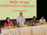 Генеральный секретарь Нгуен Фу Чонг встретился с ханойскими избирателями