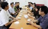 Thăm hỏi gia đình phóng viên TTXVN gặp nạn tại tỉnh Yên Bái