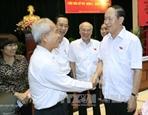 Президент СРВ Чан Дай Куанг встретился с избирателями г.Хошимина