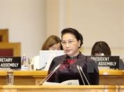 Председатель НС Вьетнама выступила с речью на 137-й Ассамблее МПС