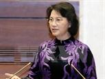 ប្រធានរដ្ឋសភា លោកស្រី Nguyen Thi Kim Ngan អញ្ជើញជួបជាមួយប្រធានរដ្ឋសភាអ៊ីរ៉ង់