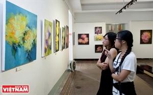 Exposition  Xuân Thi  : des émotions illimitées