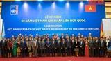 В Ханое прошла церемония празднования 40-летия вступления Вьетнама в ООН
