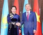 Нгуен Тхи Ким Нган провела переговоры с спикером Мажилиса Казахстана