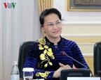 ប្រធានរដ្ឋសភាលោកស្រី Nguyen Thi Kim Ngan ជួបចរចាជាមួយប្រធានសភាជាន់ទាបកាហ្សាក់ស្ថាន