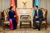 Председатель НС Вьетнама встретилась с премьер-министром Казахстана