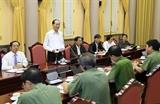 Không để xảy ra sai sót dù nhỏ nhất trong dịp Tuần lễ Cấp cao APEC 2017