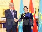 Chủ tịch Quốc hội kết thúc chuyến thăm Kazakhstan