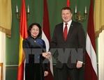 Вице-президент Вьетнама находится в Латвии с официальным визитом