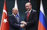 Путин и Эрдоган положительно оценили совместную работу в астанинском процессе