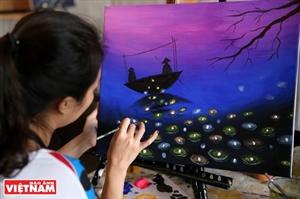 Tipsy Art un espacio de creatividad para pintores aficionados