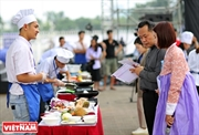 하노이에서 열린 한-베 음식문화축제 체험