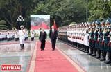 Promueve el desarrollo sostenible y sano de la asociación de cooperación estratégica integral Vietnam y China