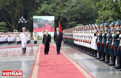 В дальнейшем развиваются всестороннее стратегическое сотрудничество и партнерство