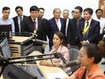 Khánh thành giai đoạn 1 dự án 9 đài phát sóng cho Campuchia