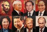 Керамические портреты лидеров АТЭС