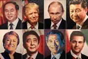 Exposition des portraits en céramique des dirigeants économiques de lAPEC