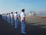 Российский корабль возглавит колонну на параде в честь 50-летия АСЕАН