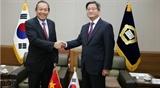 Постоянный Вице-премьер Вьетнама Чыонг Хоа Бинь находится с визитом в Республике Корея