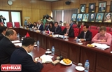 В Ханое состоялась встреча руководителей ОВРД с губернатором Ирскутской области