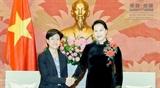 Председатель НС Вьетнама приняла Посла Сингапура