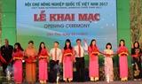 Во Вьетнаме открылась Международная агропромышленная ярмарка 2017
