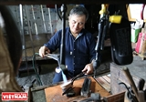 The last silver engraver on Po Ly Ngai mountain