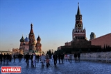 Ấn tượng cung điện Kremlin Moskva