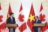 确立越南-加拿大全面伙伴关系
