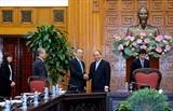 Нгуен Суан Фук принял делегацию Федерации экономических организаций Японии Кэйданрэн