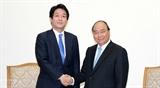 Премьер-министр Вьетнама принял специального советника Премьер-министра Японии