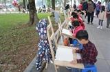 Укрепление дружбы между детьми из Вьетнама и других иностранных государств