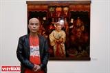 Tín ngưỡng thờ Mẫu qua bút vẽ Trần Tuấn Long