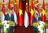 The Firm Relations between Vietnam and Singapore