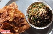 녓 (Nhót)야채– 응에 (Nghệ) 인민들의 인기 음식