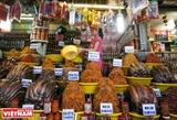 Chợ mắm cá khô Châu Đốc