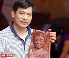 Nguyen Tran Hiep artesano nacional más joven de Vietnam