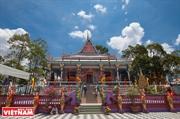 Chen Kieu pagoda única del pueblo Khmer