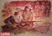 Frontline Collection with Portraits of Vietnamese Women during War