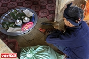 La cérémonie de prière pour le hameau de lethnie Công
